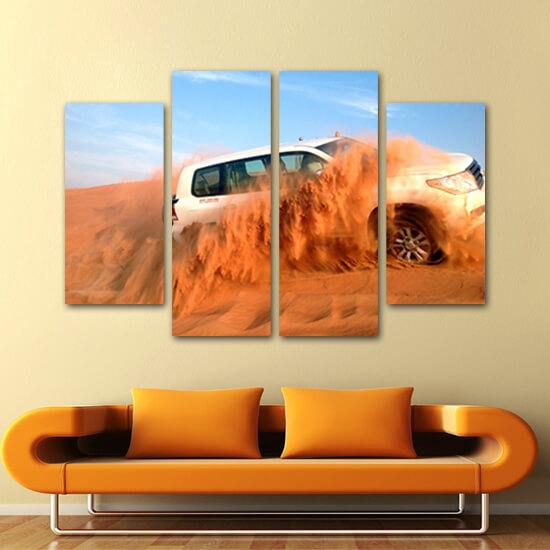 В пустинята