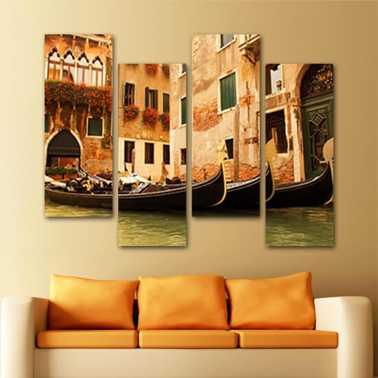 Гондолите на Венеция