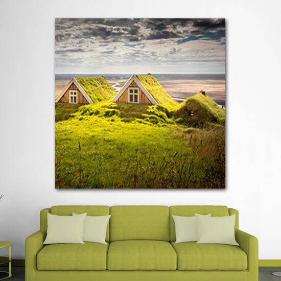 Къщи в Исландия