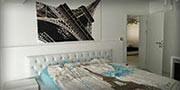 bedroom Aifel tower
